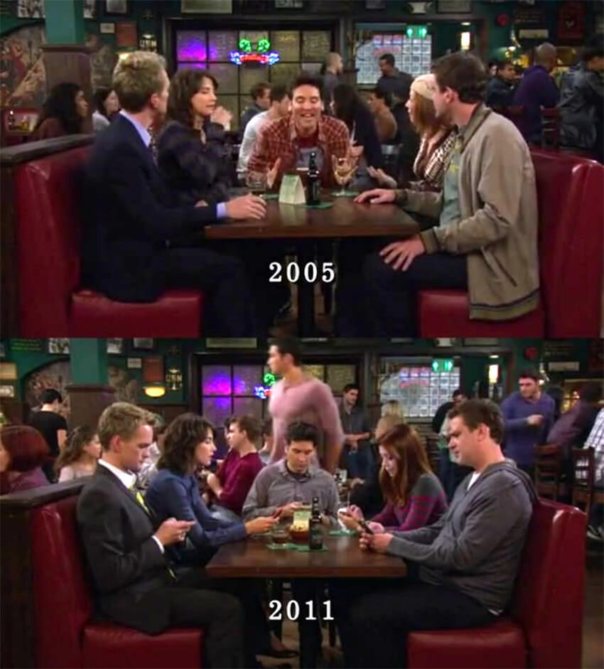How I met your mother Smartohones 2011